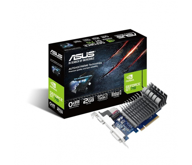 ASUS GeForce GT710 2048MB 64bit Silent - 285430 - zdjęcie