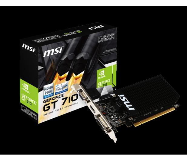 MSI GeForce GT710 1GB DDR3 - 285437 - zdjęcie