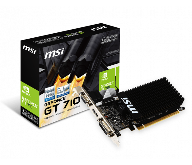 MSI GeForce GT 710 Low Profile 2GB DDR3 - 285436 - zdjęcie 5