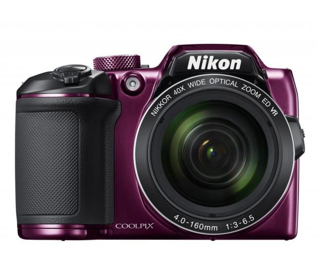 Nikon Coolpix B500 fioletowy - 310047 - zdjęcie