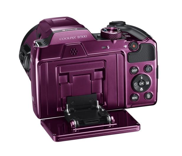 Nikon Coolpix B500 fioletowy - 310047 - zdjęcie 8