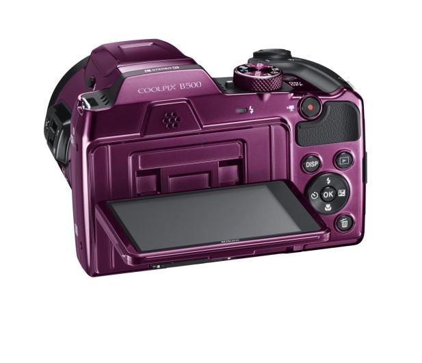 Nikon Coolpix B500 fioletowy - 310047 - zdjęcie 9