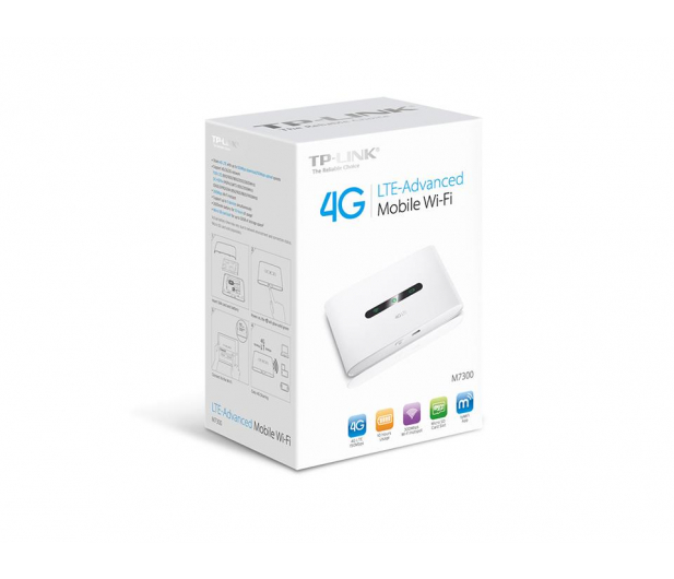 TP-Link M7300 WiFi b/g/n 3G/4G (LTE) 150Mbps - 310864 - zdjęcie 4