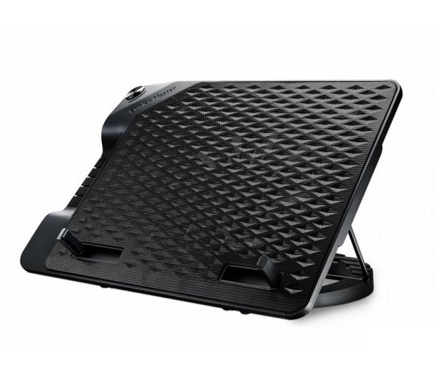 """Cooler Master NotePal Ergostand III (do 17"""", 4x USB, czarna) - 316413 - zdjęcie"""