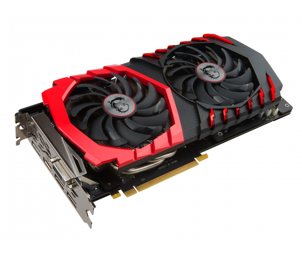 MSI GeForce GTX 1060 GAMING X 6GB GDDR5  - 317002 - zdjęcie 2