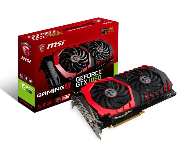 MSI GeForce GTX 1060 GAMING X 6GB GDDR5  - 317002 - zdjęcie