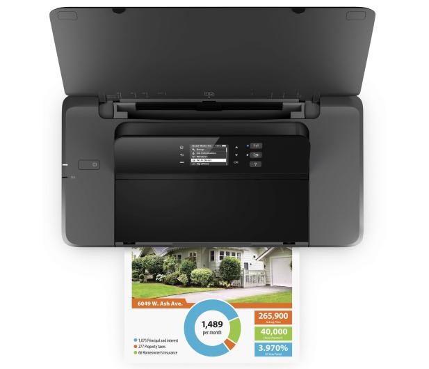 HP OfficeJet 202 Mobile z baterią - 307692 - zdjęcie 3