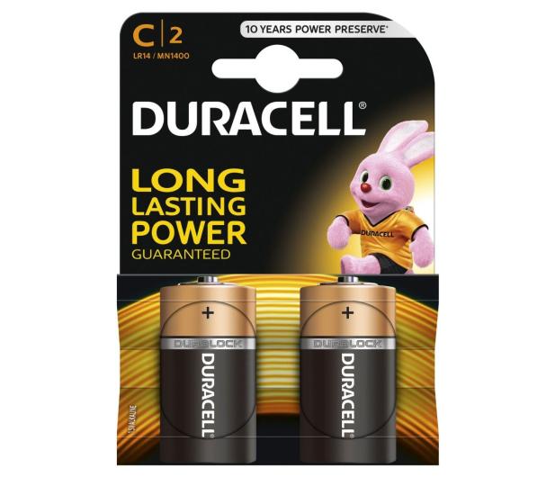 Duracell Basic C/LR14 2 szt. - 317581 - zdjęcie