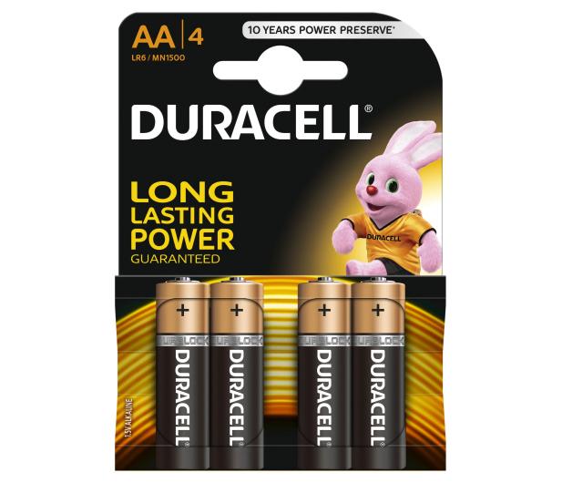 Duracell Basic AA/LR6 4 szt. - 317578 - zdjęcie