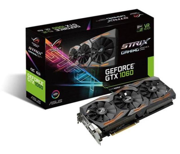 ASUS GeForce GTX 1060 Strix OC 6GB GDDR5  - 316843 - zdjęcie