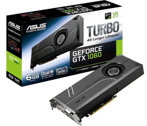 ASUS GeForce GTX 1060 Turbo 6GB GDDR5  - 316844 - zdjęcie