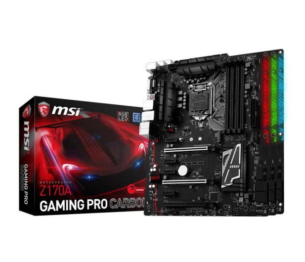 Intel i5-6600K+Z170A GAMING PRO CARBON+16GB 2400MHz - 323114 - zdjęcie 4