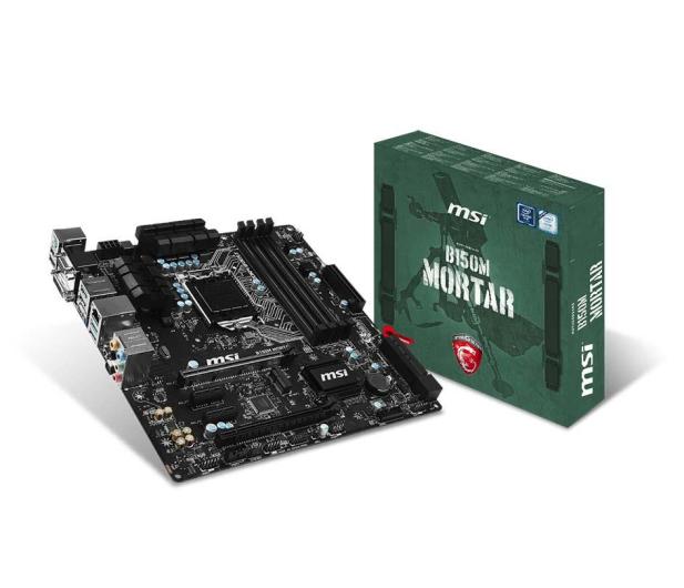 MSI B150M MORTAR (2xPCI-E DDR4) - 263739 - zdjęcie