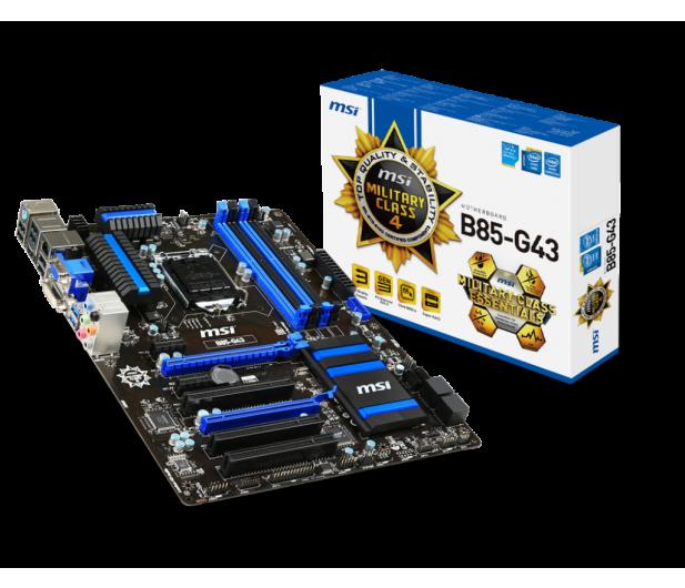 MSI B85-G43 (B85 2xPCI-E DDR3) - 150919 - zdjęcie