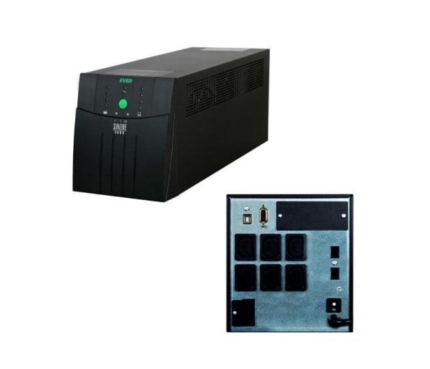 Ever Sinline XL 3000 (3000VA/2100W, 6xIEC, USB, AVR) - 261675 - zdjęcie