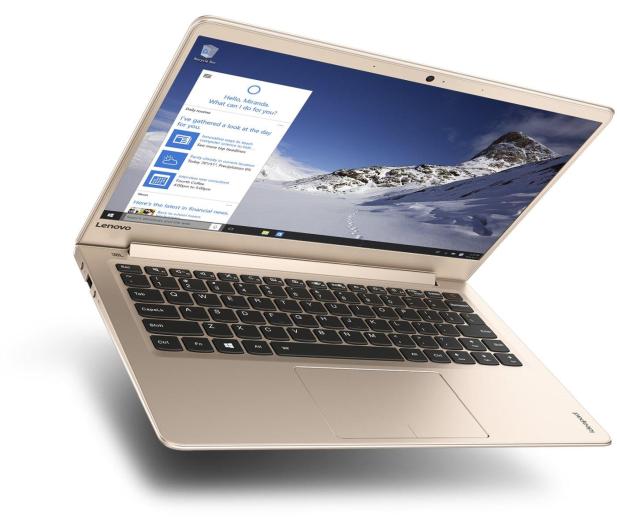 Lenovo Ideapad 710s-13 i5-7200U/8GB/256/Win10 Złoty - 333230 - zdjęcie 2
