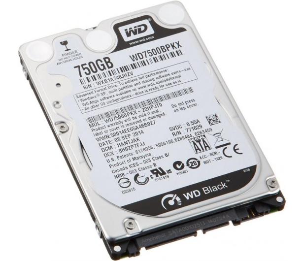 WD 750GB 7200obr. 16MB - 152384 - zdjęcie 2
