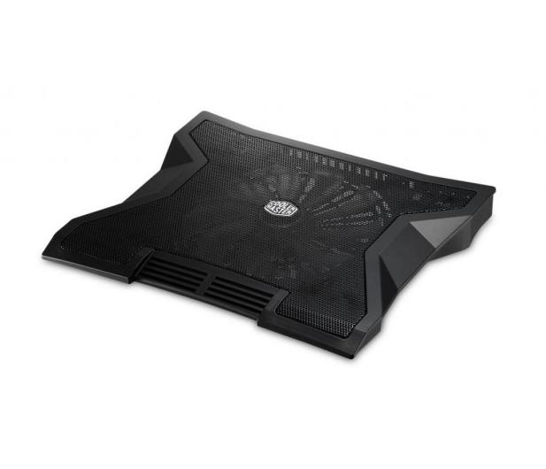 "Cooler Master NotePal XL (do 17"", aluminium, czarna) - 157752 - zdjęcie"