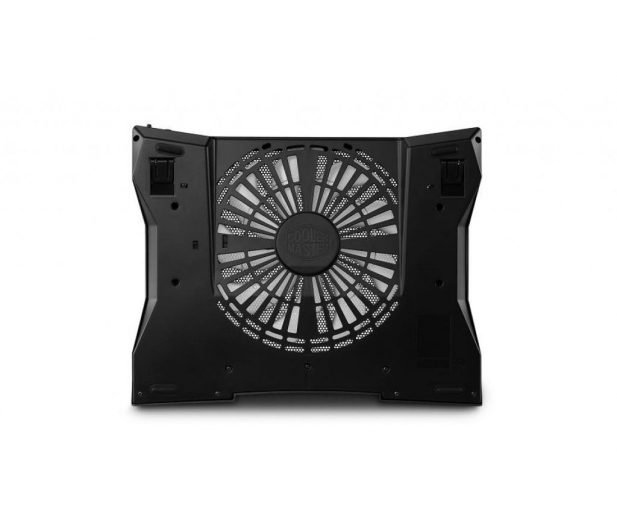 "Cooler Master NotePal XL (do 17"", aluminium, czarna) - 157752 - zdjęcie 3"