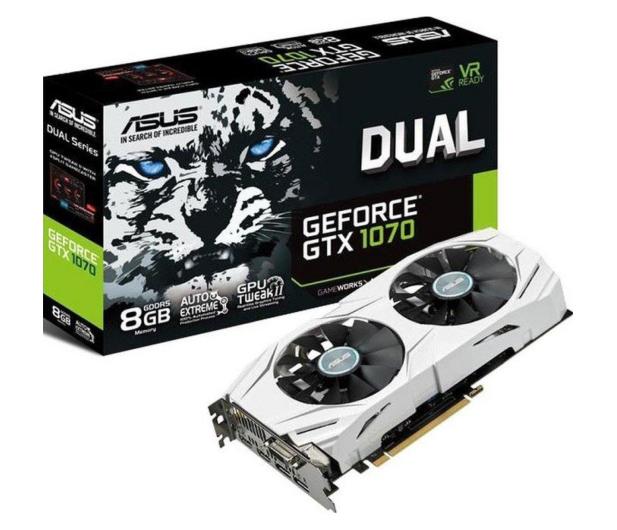 ASUS GeForce GTX 1070 Dual 8GB GDDR5 - 320602 - zdjęcie