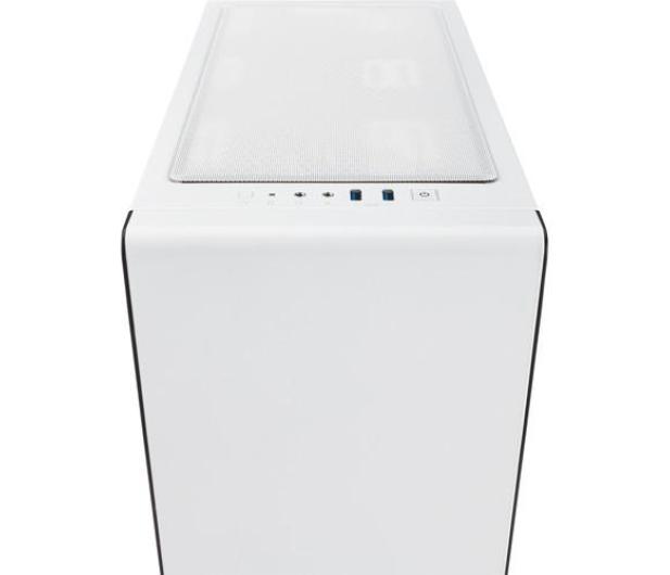 Corsair Carbide Clear 400C Case biała - 320920 - zdjęcie 2