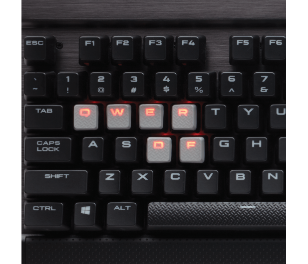 Corsair K70 LUX (Cherry MX Brown, Red LED)  - 326881 - zdjęcie 4