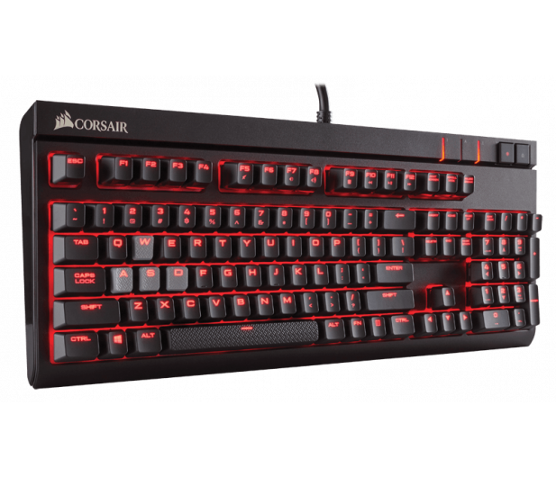Corsair STRAFE (Cherry MX Red, Red LED) - 321220 - zdjęcie 3