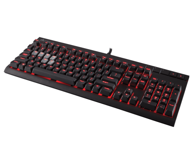 Corsair STRAFE (Cherry MX Red, Red LED) - 321220 - zdjęcie 5