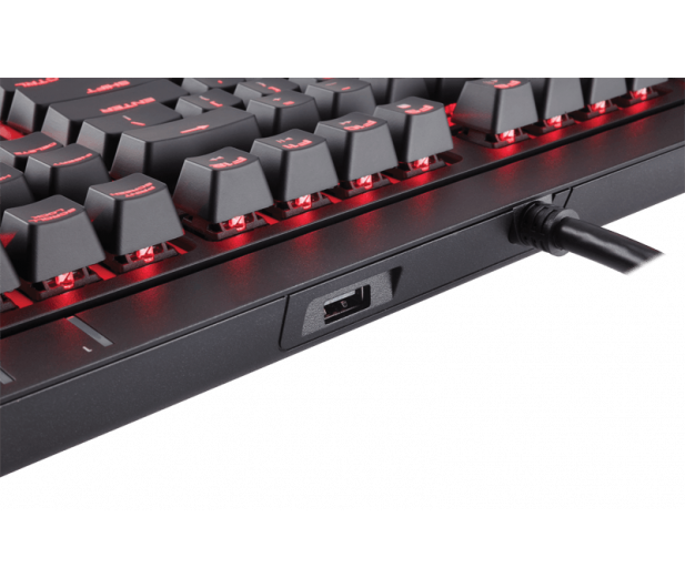 Corsair STRAFE (Cherry MX Red, Red LED) - 321220 - zdjęcie 8
