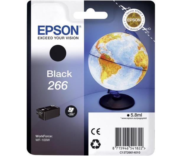 Epson 266 black 250str.  - 322010 - zdjęcie