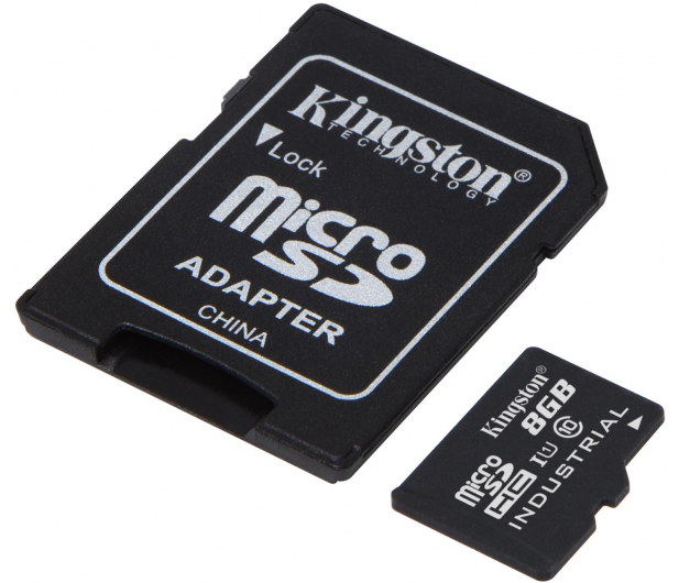 Kingston 8GB microSDHC UHS-I zapis 20MB/s odczyt 90MB/s - 322330 - zdjęcie 2