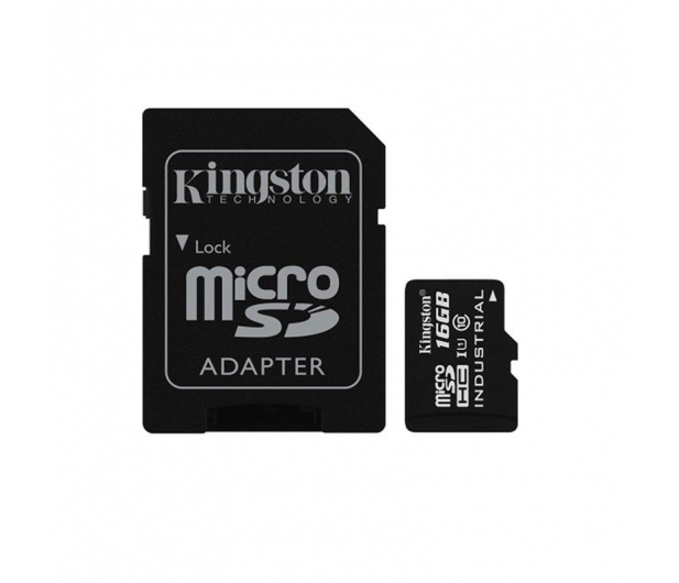 Kingston 16GB microSDHC UHS-I zapis 45MB/s odczyt 90MB/s  - 322336 - zdjęcie 2