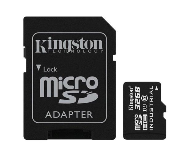 Kingston 32GB microSDHC UHS-I zapis 45MB/s odczyt 90MB/s  - 322338 - zdjęcie 3