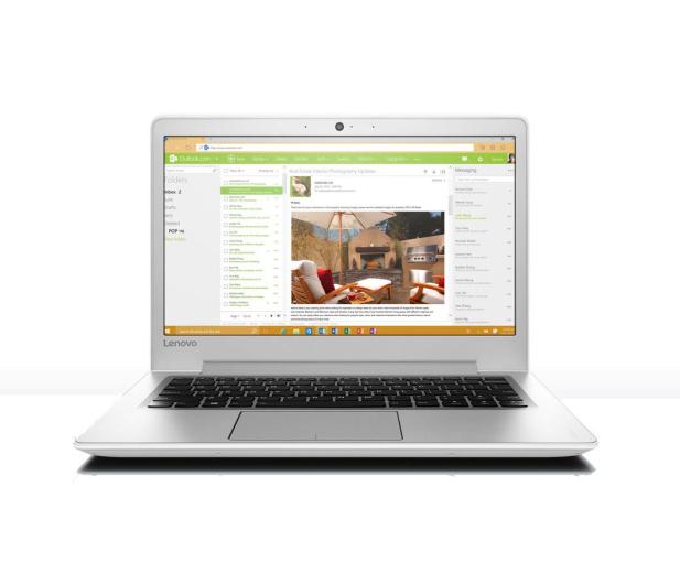Lenovo Ideapad 510s-13 i3-6100U/8GB/240/Win10X biały  - 318010 - zdjęcie 6