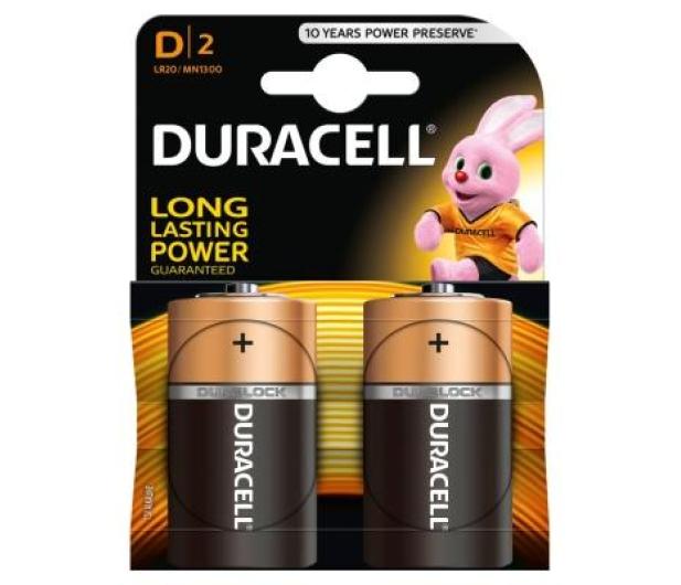 Duracell Basic LR20 2 szt - 323174 - zdjęcie