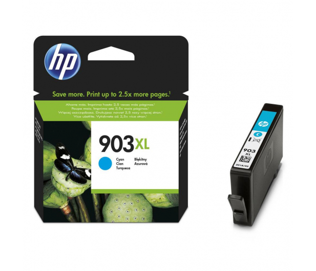 HP 903xl cyan 825 str. (T6M03AE) - 307887 - zdjęcie