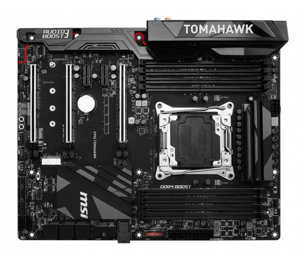 MSI X99A TOMAHAWK (X99 3xPCI-E DDR4) - 323327 - zdjęcie 4