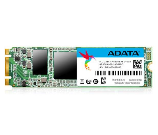 ADATA 240GB M.2 SATA SSD Premier Pro SP550 - 323364 - zdjęcie