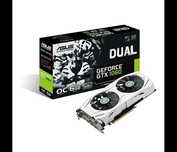ASUS GeForce GTX 1060 Dual OC 6GB GDDR5  - 316838 - zdjęcie