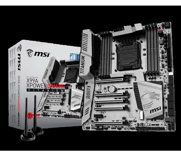 MSI X99A XPOWER GAMING TITANIUM (X99 5xPCI-E DDR4) - 319661 - zdjęcie