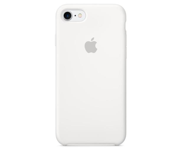 Apple Silicone Case do iPhone 7/8 White - 325687 - zdjęcie 3