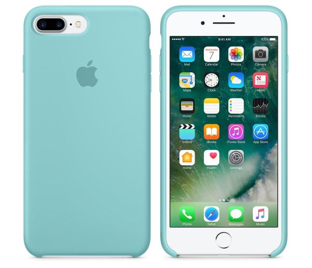 wholesale dealer 4d96b 53a49 Apple Silicone Case iPhone 7 Plus/8 Plus Sea Blue - Etui i obudowy na  smartfony - Sklep komputerowy - x-kom.pl