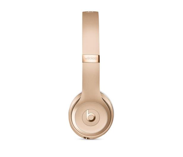 Apple Beats Solo3 Wireless On-Ear złote - 325829 - zdjęcie 5