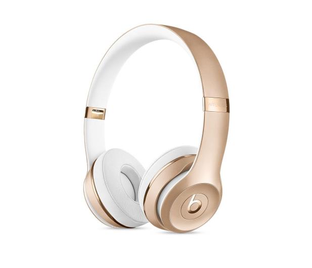 Apple Beats Solo3 Wireless On-Ear złote - 325829 - zdjęcie