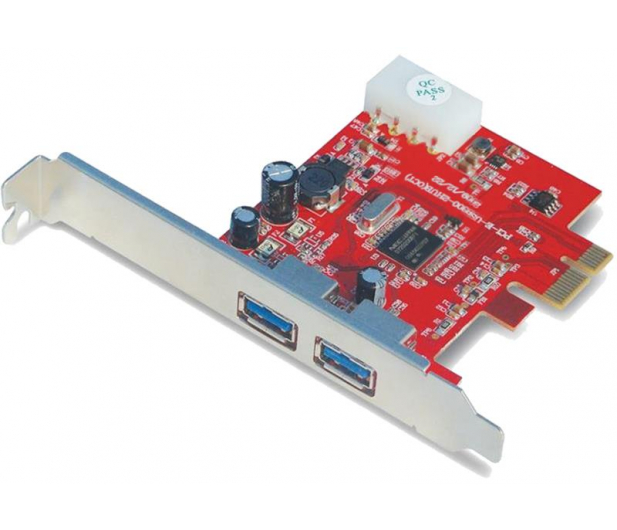 Unitek PCI Express -> 2x USB 3.0 - 326039 - zdjęcie