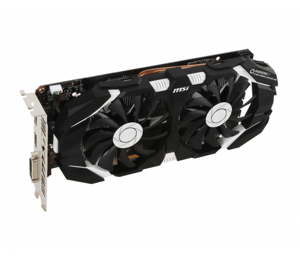 MSI GeForce GTX 1060 3GT OC 3GB GDDR5 - 323674 - zdjęcie 4