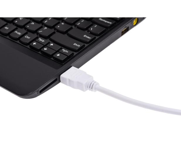 SHIRU HDMI-HDMI 3m biały do monitora, konsoli - 320295 - zdjęcie 3