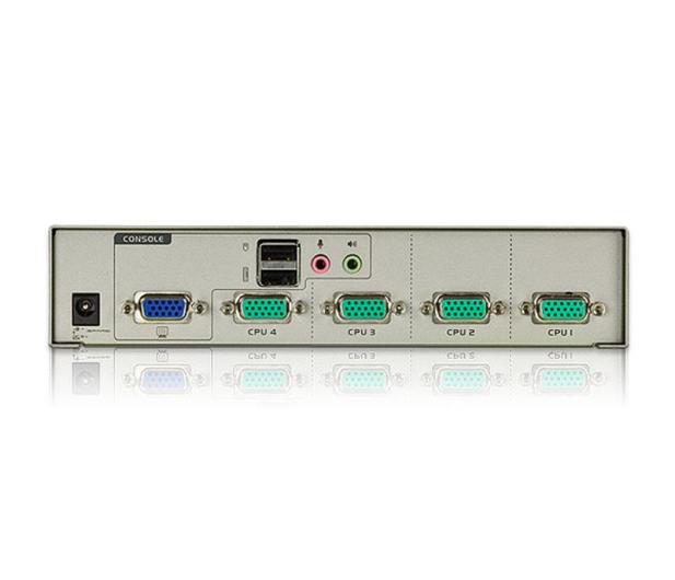 ATEN CS74U-A7 USB + VGA + audio (4 komputery) - 29884 - zdjęcie 3