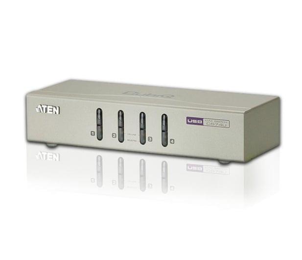 ATEN CS74U-A7 USB + VGA + audio (4 komputery) - 29884 - zdjęcie 2