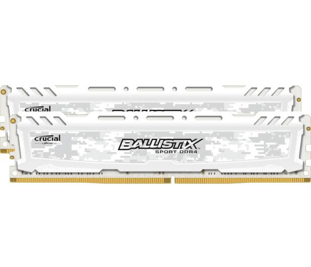 Crucial 8GB 2400MHz Ballistix Sport LT White CL16 (2x4GB) - 327968 - zdjęcie